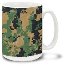 Marines Camo MCU - 15oz. Mug