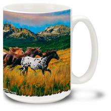 Spectacular Seven Paint Horses - 15oz. Mug