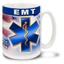 EMT Emergency Medical Technician - 15oz. Mug