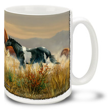 Band of Thunder Horse Coffee Mug - 15oz. Mug
