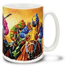 All Dressed Up Derby Horses Coffee Mug - 15oz. Mug