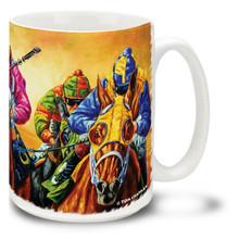 All Dressed Up Derby Horses Coffee Mug - 15oz. Mug