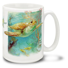 Sea Turtles - 15oz. Mug