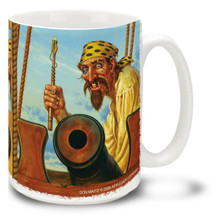 Pirate Gunners - 15oz. Mug