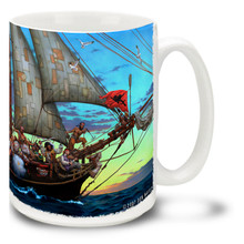 Forty Thieves Pirate Ship Pirates - 15oz. Mug