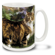 Wild Thing Maine Coon - 15oz. Cat Mug