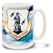 Air National Guard emblem - 15oz. Mug
