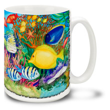 Reef Life Tropical Fish - 15oz. Mug