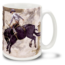 Blackie Bronco Horse - 15oz Mug