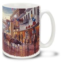 Cowtown Fort Worth Stockyards Texas - 15oz Mug