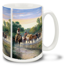 Pickin' Up Strays Cowboys - 15oz Mug