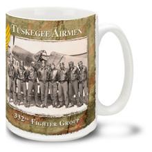 Tuskegee Airmen 332nd FG Squad - 15oz Mug