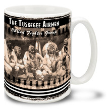 Tuskegee Airmen 332nd Fighter Group - 15oz Mug