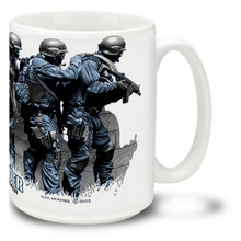 Follow the Leader Police SWAT Team - 15oz Mug