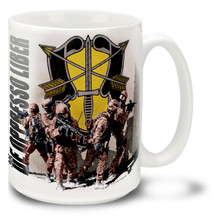Army Special Forces in Action - 15oz Mug