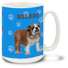 Bulldog - 15oz Dog Mug