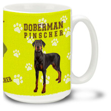 Doberman - 15oz Dog Mug