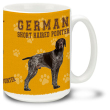 German Shorthaired Pointer - 15oz Dog Mug