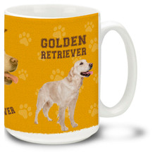 Golden Retriever - 15oz Dog Mug