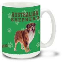 Australian Shepherd - 15oz Dog Mug