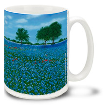 Texas Bluebonnet - 15oz Mug