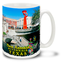 San Antonio River Walk Texas - 15oz Mug