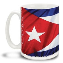 Cuban Flag - 15oz Mug