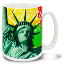 Statue of Liberty Bright Paints - 15oz Mug
