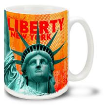Statue of Liberty Bold Style - 15oz Mug