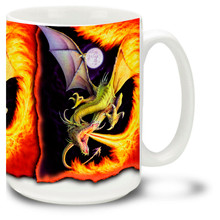 Dragon of Fire - 15oz Mug