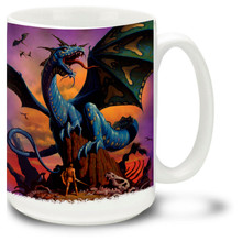 Blue Dragon - 15oz Mug