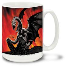 Black Dragon - 15oz Mug
