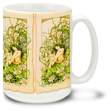 Fairy in a Daisypatch - 15oz Mug