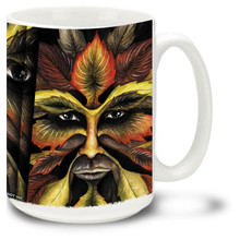 The Green Man Spirit of the Forest - 15oz Mug