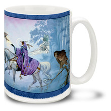 Wizard and Owls - 15oz Mug