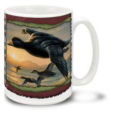 Duck Stamp Flying Ducks - 15oz Mug