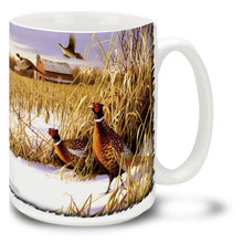 Fencerow Pheasants - 15oz Mug