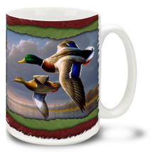 Ducks in Flight - 15oz Mug