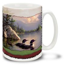 Gathering Storm Loons - 15oz Mug