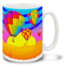 Desert Balloon Fiesta - 15oz Mug