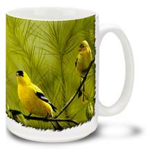 Pine Finch - 15oz Mug