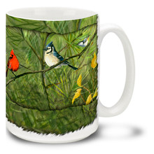 Songbird Collage - 15oz Mug