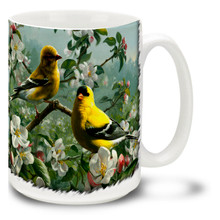 Orchard Goldfinch - 15oz Mug