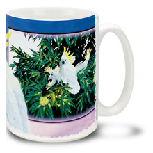White Cockatiel - 15oz Mug