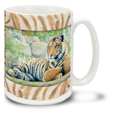 Jungle Tiger - 15oz Mug