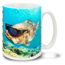 Too Cool Grouper - 15oz Mug
