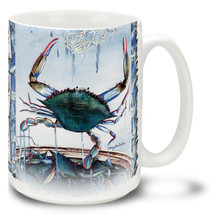 Blue Crab Coastal Favorite - 15oz Mug