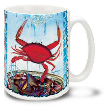 Red Crab Coastal Favorite - 15oz Mug
