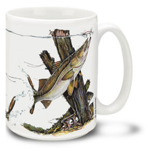 Saltwater Fishing Favorites Snook - 15oz Mug