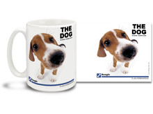 "Get up close and personal with your favorite dog breeds with ""The Dog"" mug featuring the popular Beagle! Beagle lovers know these handsome hounds have an even temper and gentle disposition and are amiable and fun-loving. Colorful 15oz The Dog Beagle coffee mug is dishwasher and microwave safe."